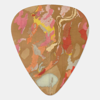 Nevada Basin Geological Guitar Pick