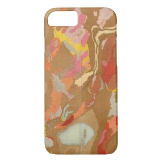 Nevada Basin Geological iPhone 8/7 Case
