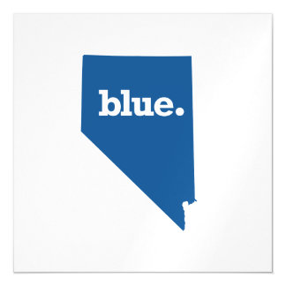 NEVADA BLUE STATE MAGNETIC INVITATIONS