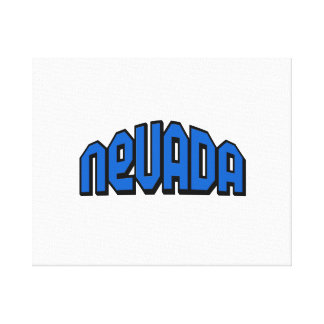 Nevada Stretched Canvas Print