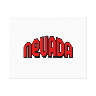 Nevada Gallery Wrapped Canvas