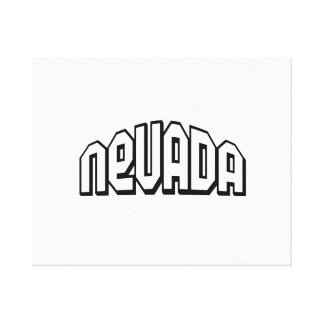 Nevada Gallery Wrap Canvas