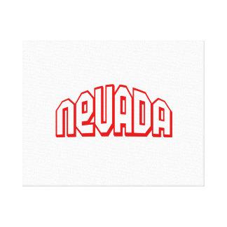 Nevada Canvas Prints