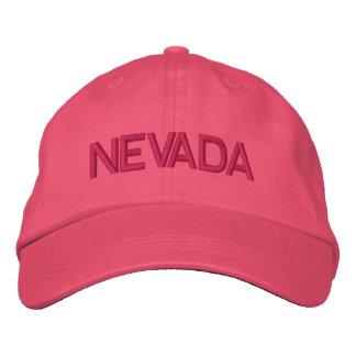 Nevada Cap Embroidered Baseball Caps