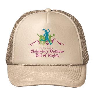 Nevada Children's Outdoor Bill of Rights hat