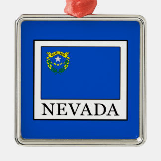 Nevada Christmas Ornament