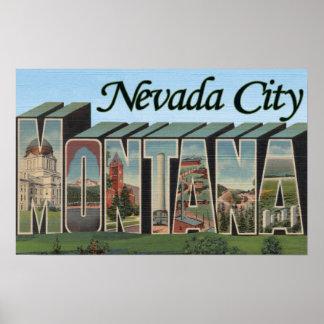 Nevada City, Montana Posters