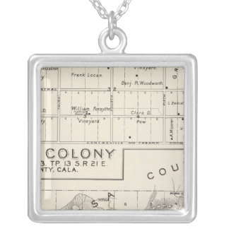 Nevada Colony Silver Plated Necklace