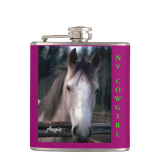 Nevada Country Flask