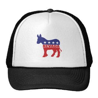 Nevada Democrat Donkey Mesh Hats
