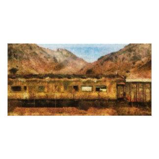 Nevada - Desert Train Photo Cards