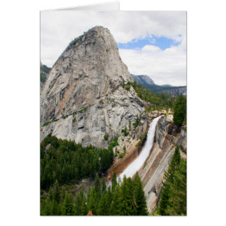 Nevada Falls and Liberty Cap (Blank Inside) Card