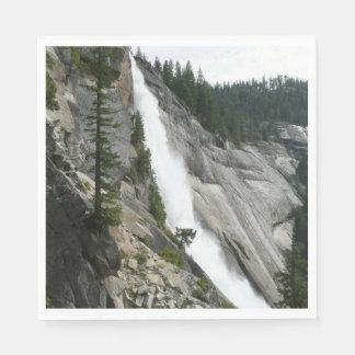 Nevada Falls at Yosemite National Park Disposable Serviette