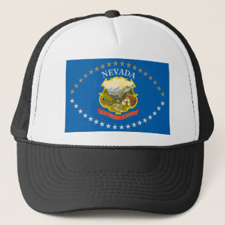 Nevada Flag (1915-1929) Trucker Hat