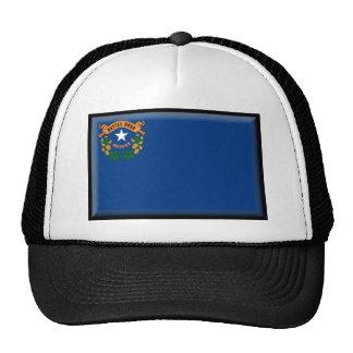 Nevada Flag Trucker Hats