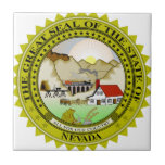 Nevada Flag Tile