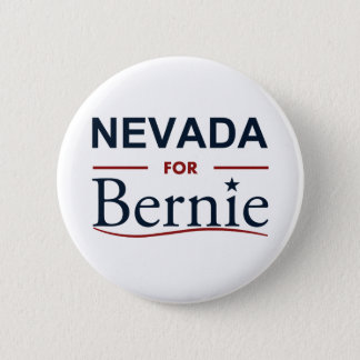 Nevada for Bernie 6 Cm Round Badge