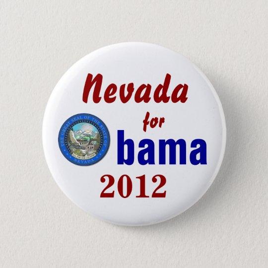 Nevada for Obama 2012 6 Cm Round Badge