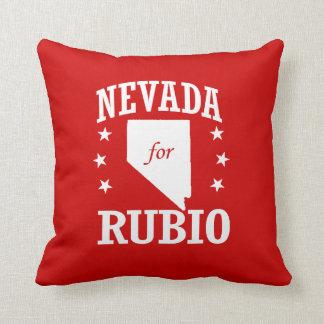 NEVADA FOR RUBIO THROW PILLOWS