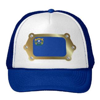Nevada framed Flag Hat