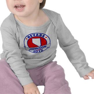 Nevada Gary Johnson T Shirt