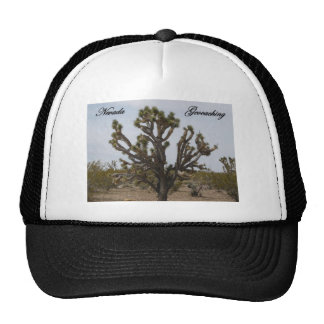 Nevada Geocaching Joshua Tree Cap