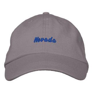 Nevada Hat Embroidered Baseball Cap