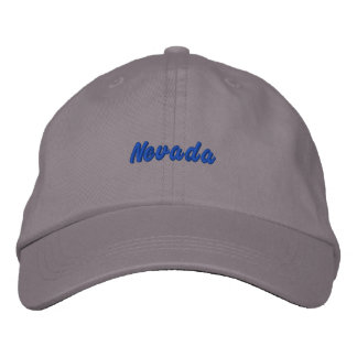 Nevada Hat Embroidered Baseball Cap