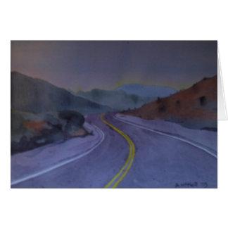 Nevada Highway 2 Card