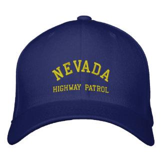 NEVADA, HIGHWAY PATROL EMBROIDERED BASEBALL CAP