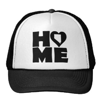 Nevada Home Heart State Ball Cap Trucker Hat
