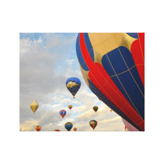 Nevada Hot Air Balloon Races Canvas Print