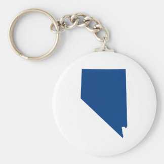 Nevada in Blue Key Ring