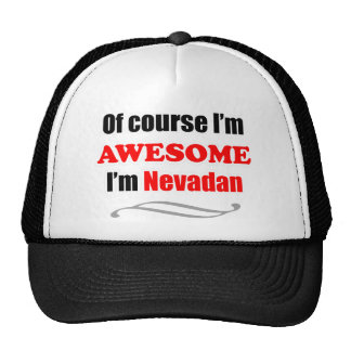 Nevada Is Awesome Trucker Hat