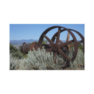 Nevada Mine Equipment Canvas Print