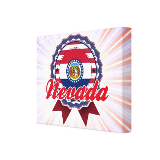 Nevada, MO Stretched Canvas Prints