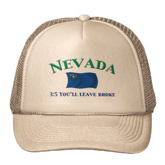Nevada Motto Mesh Hats