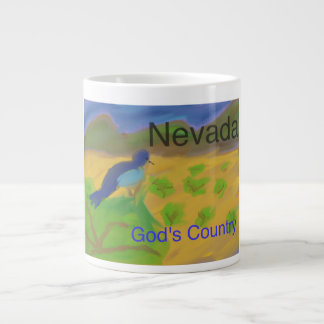 Nevada Mountain Bluebird Christian Coffee Mug Cup
