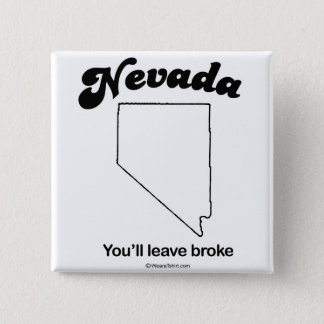 """NEVADA - """"NEVADA STATE MOTTO"""" T-shirts and Gear 15 Cm Square Badge"""