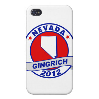 Nevada Newt Gingrich Case For iPhone 4