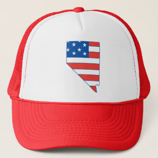 Nevada Patriotic Hat
