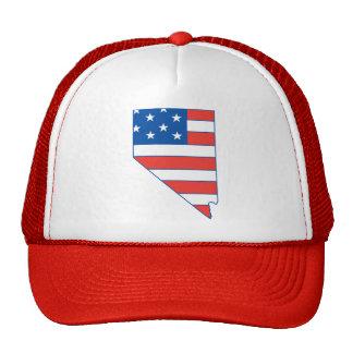 Nevada Patriotic Hat Hat