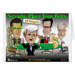 Nevada. Place Your Bets Greeting Card