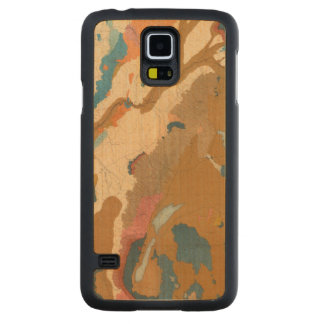 Nevada Plateau Geological Carved Maple Galaxy S5 Case