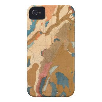 Nevada Plateau Geological Case-Mate iPhone 4 Cases