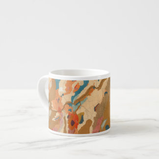Nevada Plateau Geological Espresso Cup