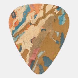Nevada Plateau Geological Guitar Pick