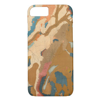 Nevada Plateau Geological iPhone 8/7 Case