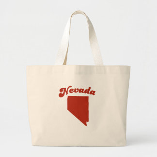NEVADA Red State Tote Bag