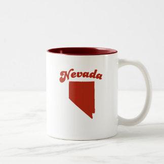 NEVADA Red State Coffee Mug